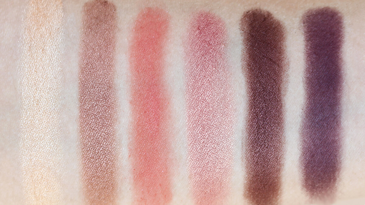swatches sweet peach too faced