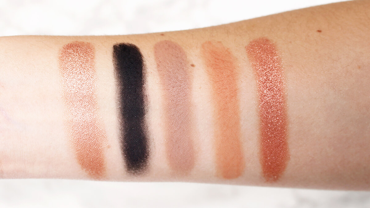 swatches palette hidden treasure dose of colors
