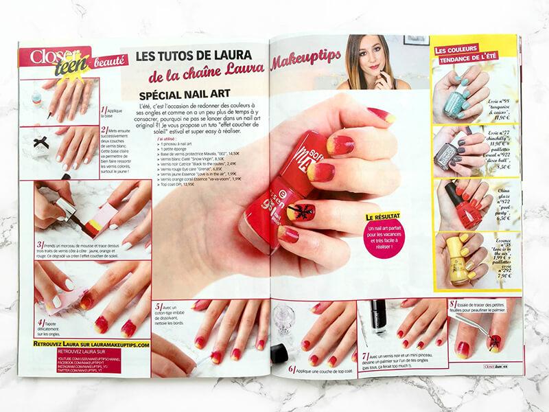 nail art closerteen
