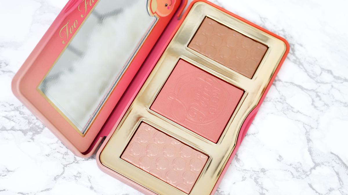 sweet peach glow kit too faced bis