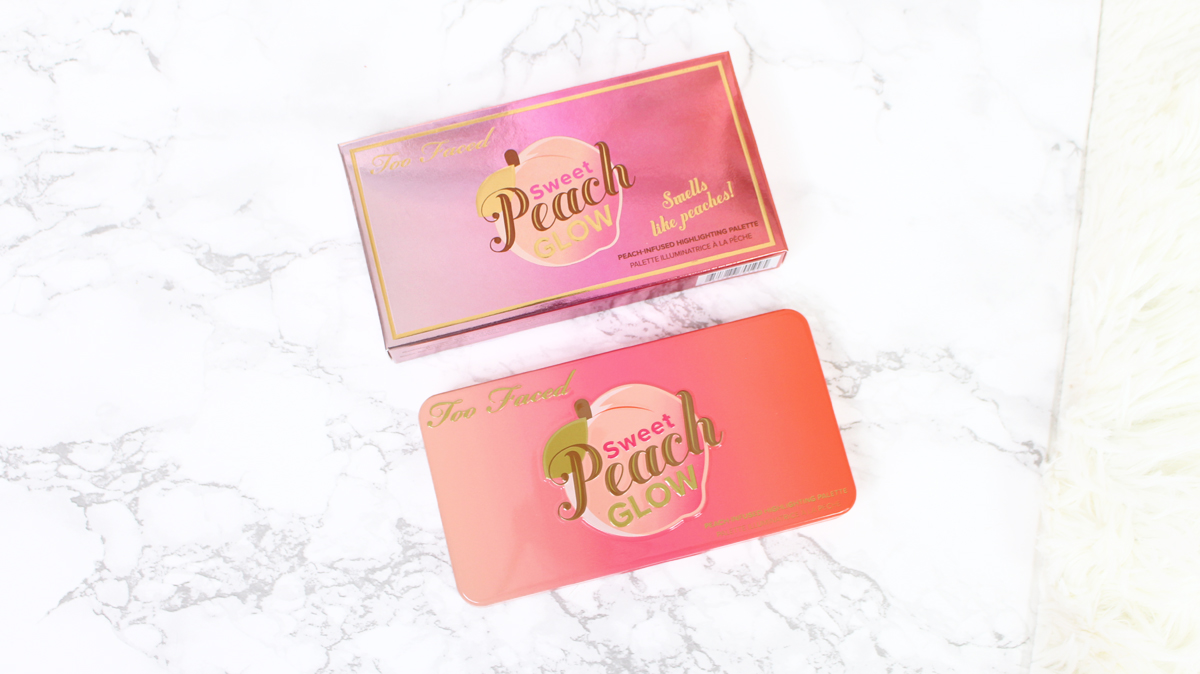 sweet peach glow kit too faced
