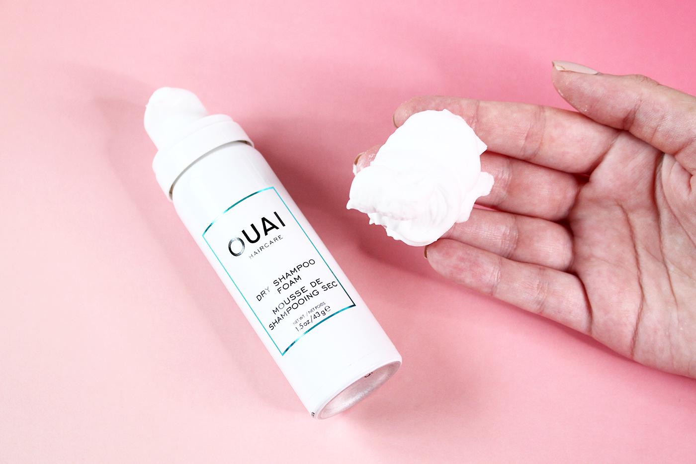 Shampoing sec en mousse OUAI