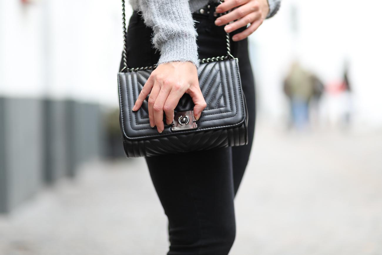 sac noir shein