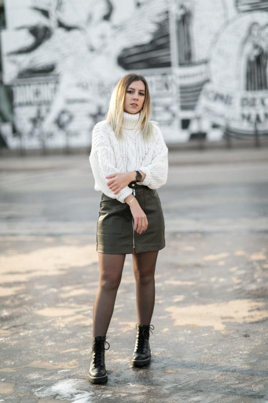 tenue kaki hiver