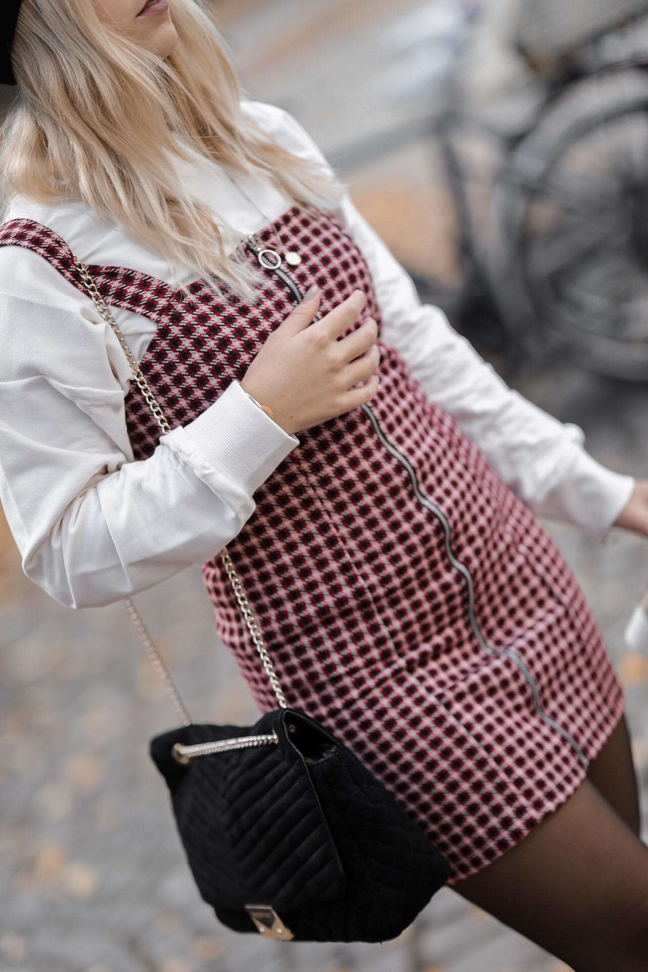 robe carreaux automne